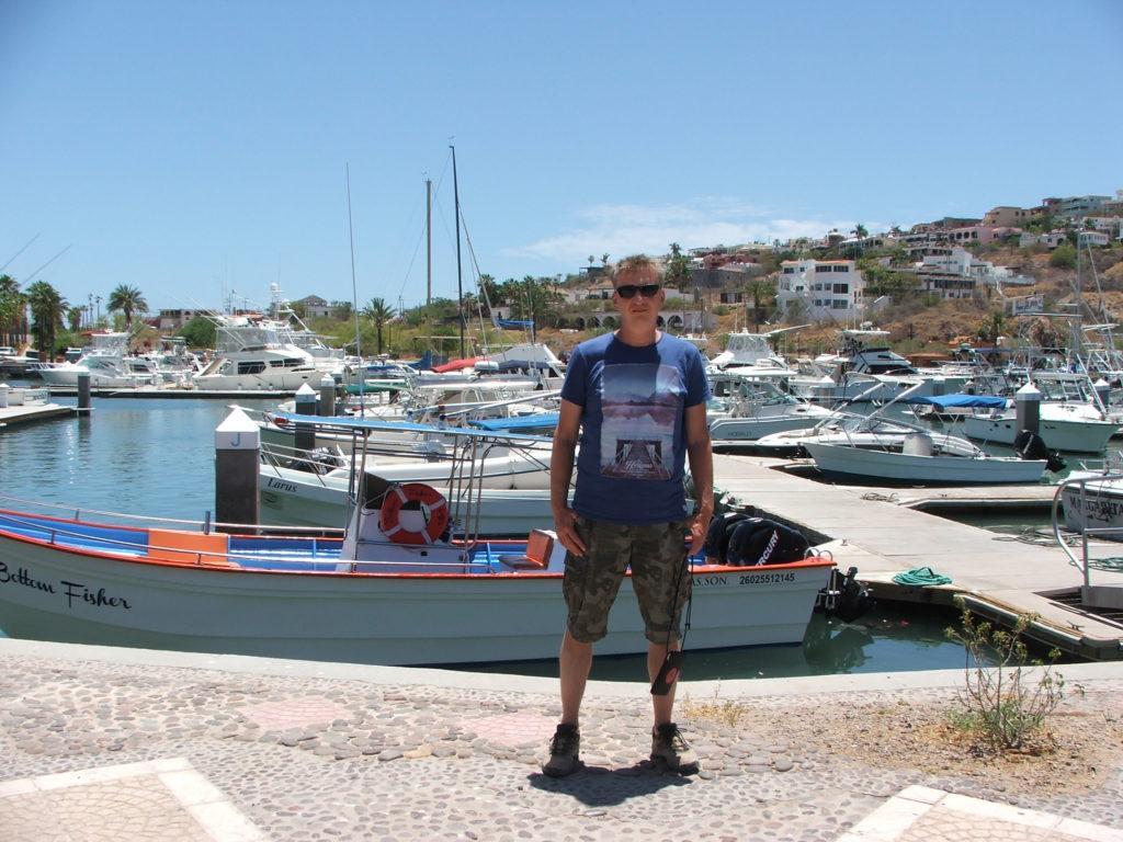 Podróż do Meksyku, jachty w San Carlos