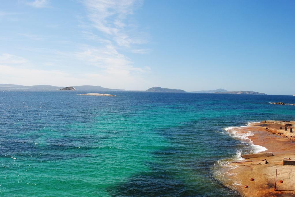 Podróż do Australii, zatoka Albany