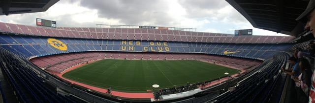 Wycieczka do Hiszpanii, stadion w Barcelonie