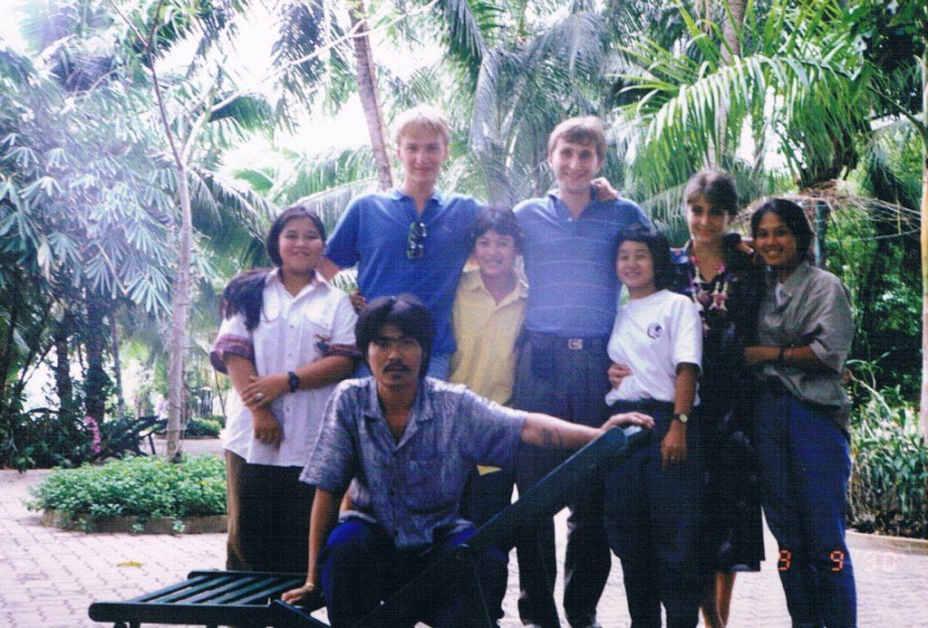 Podróż do Tajlandii, napotkani Tajowie