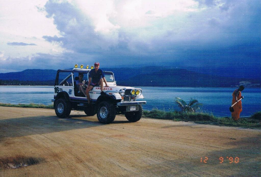 Podróż do Tajlandii, nasz jeep
