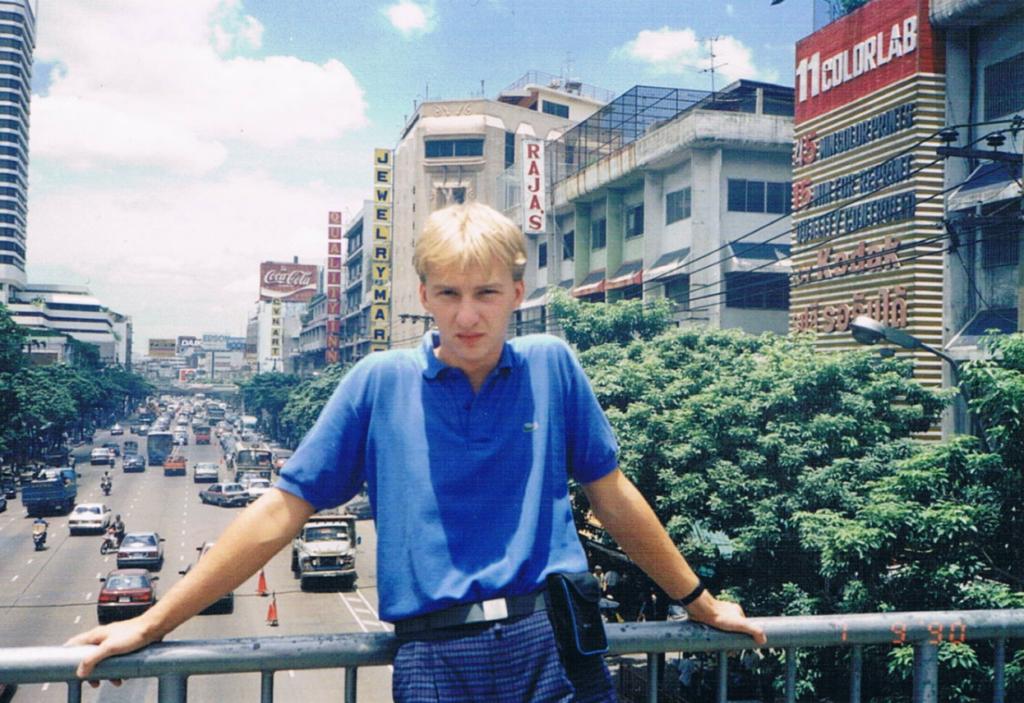 Podróż do Tajlandii, ja i miasto