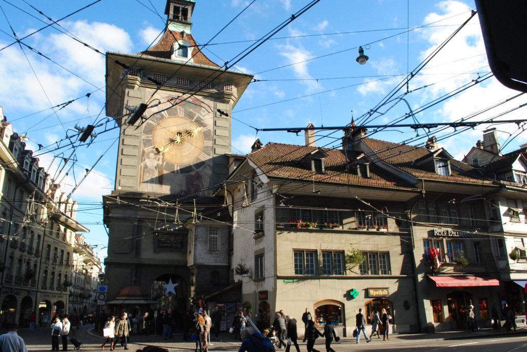 Podróż do Szwajcarii, Berno