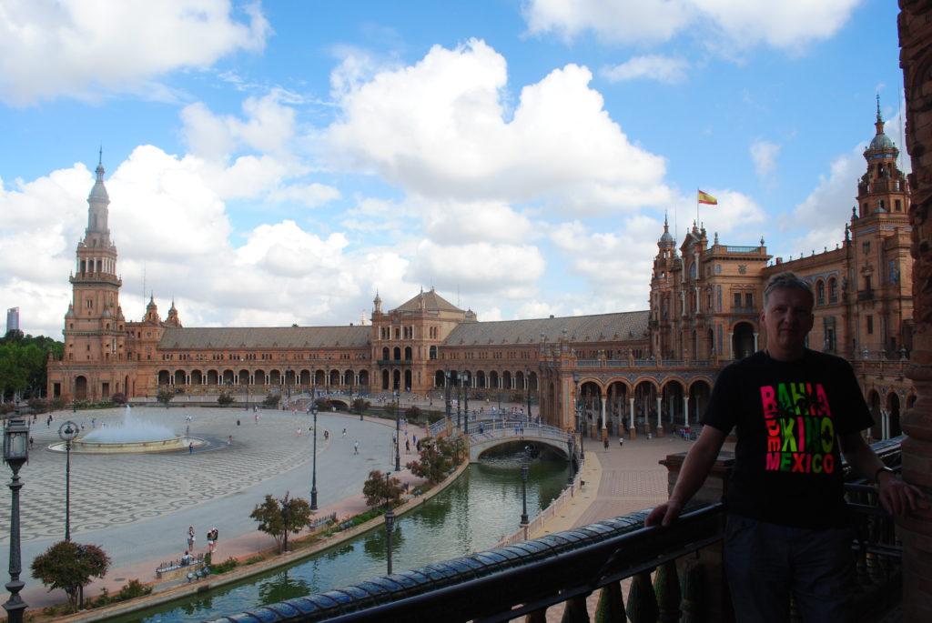 Podróż do Hiszpanii, plac hiszpański