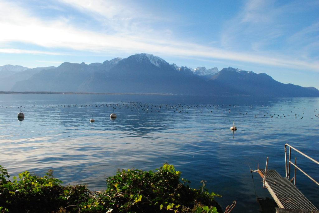 Podróż do Szwajcarii, jezioro genewskie 1