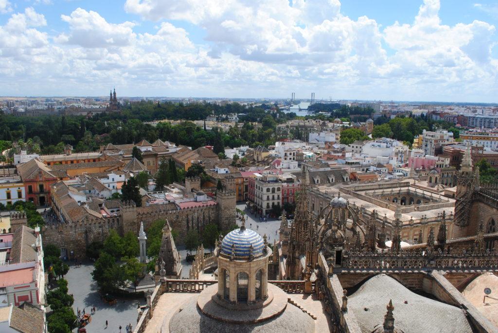 Podróż do Hiszpanii, panorama z Girandy