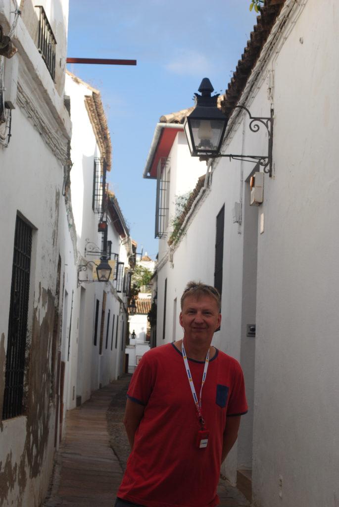 Podróż do Hiszpanii, wąskie uliczki