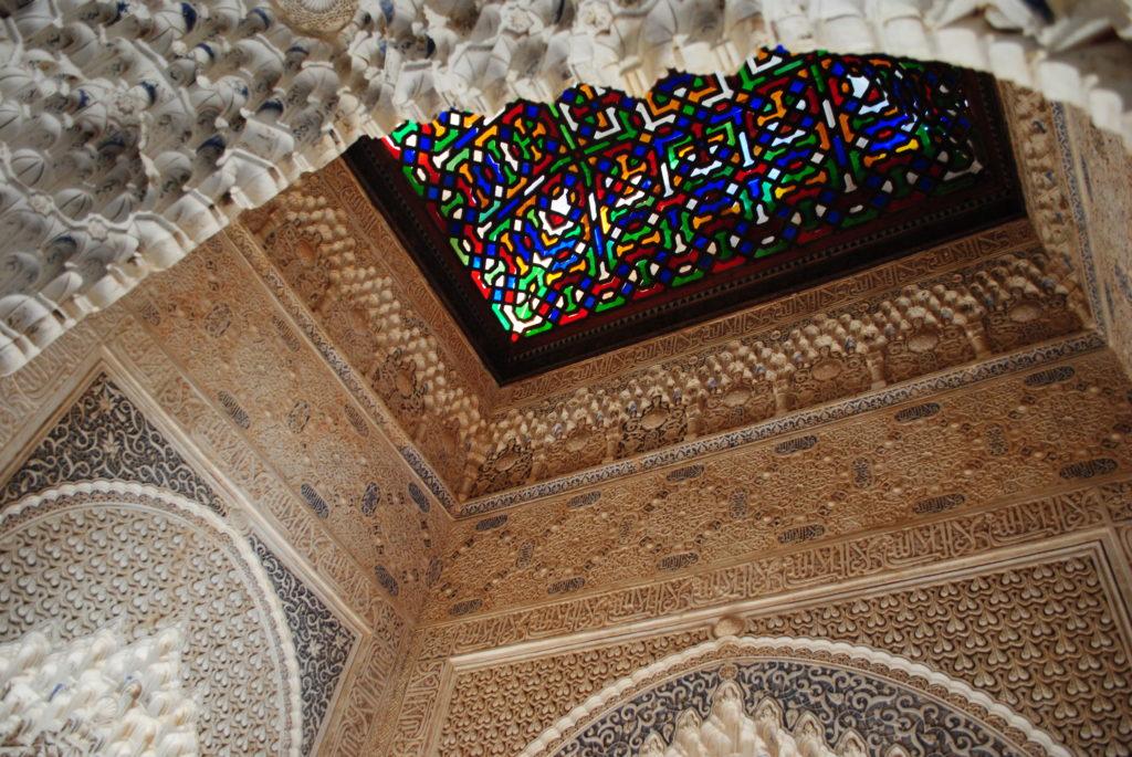 Pałac Alhambra, wystrój wnętrza