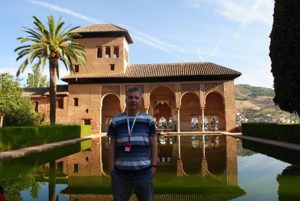 Pałac Alhambra, wycieczka się zaczyna