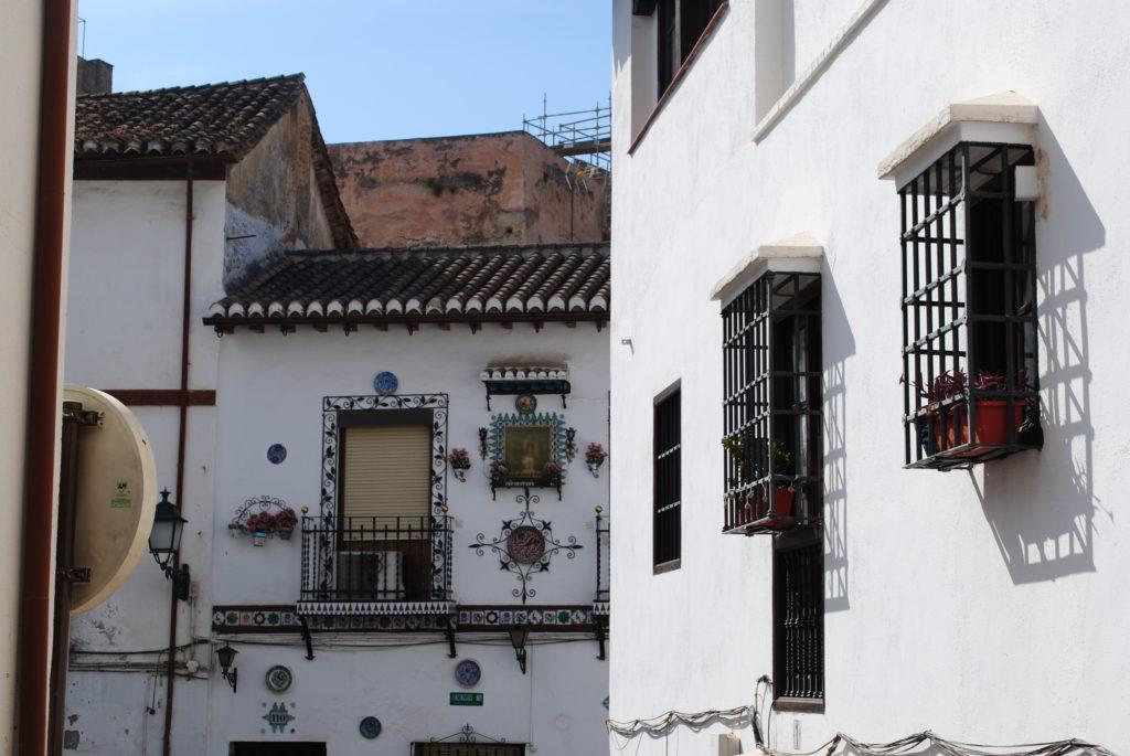 Pałac Alhambra, uliczki Grenady