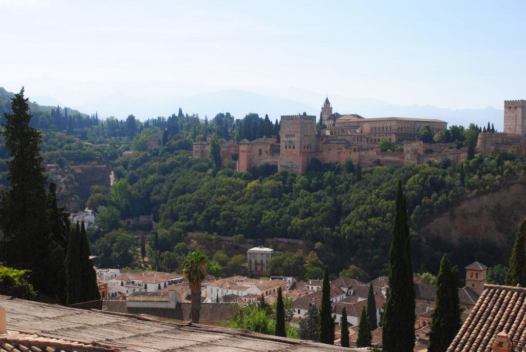 Pałac Alhambra, widok z boku