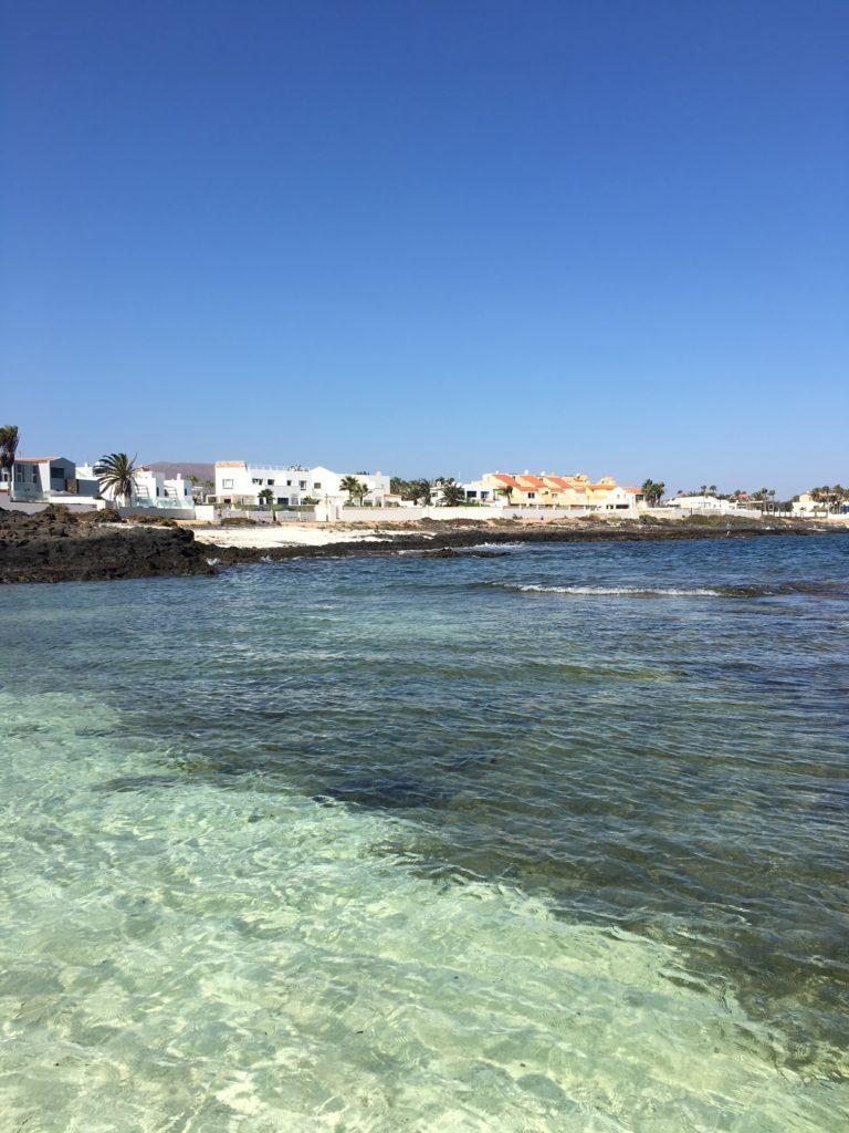 Podróż na Wyspy Kanaryjskie, plaża