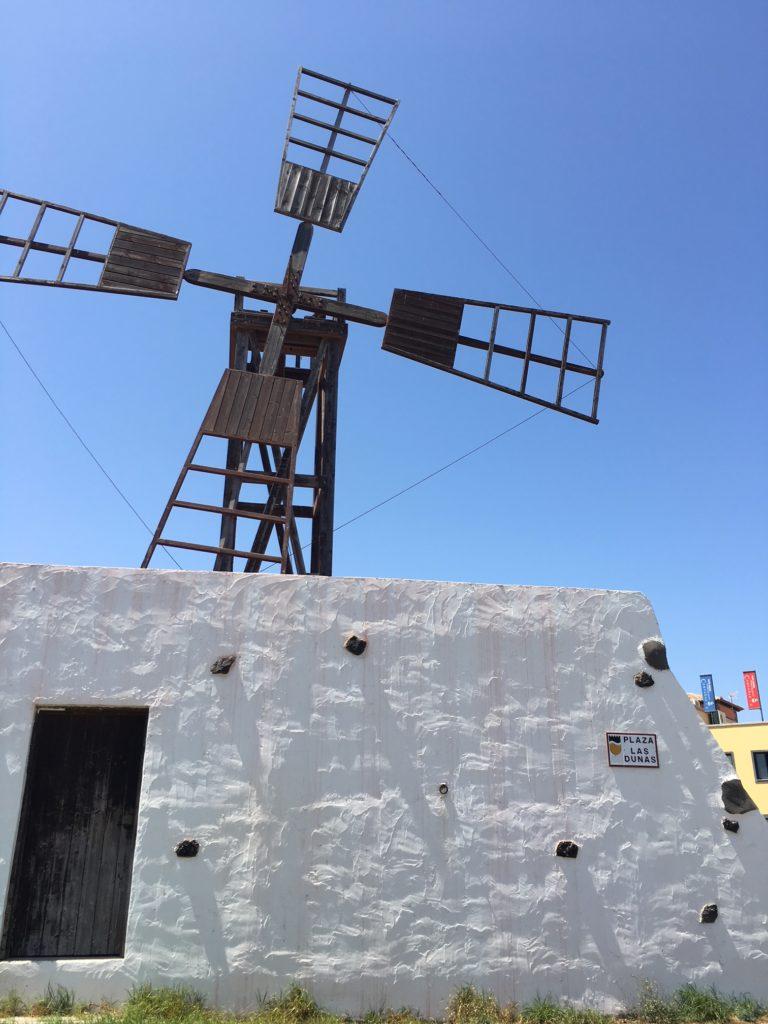 Podróż na Wyspy Kanaryjskie, wiatrak