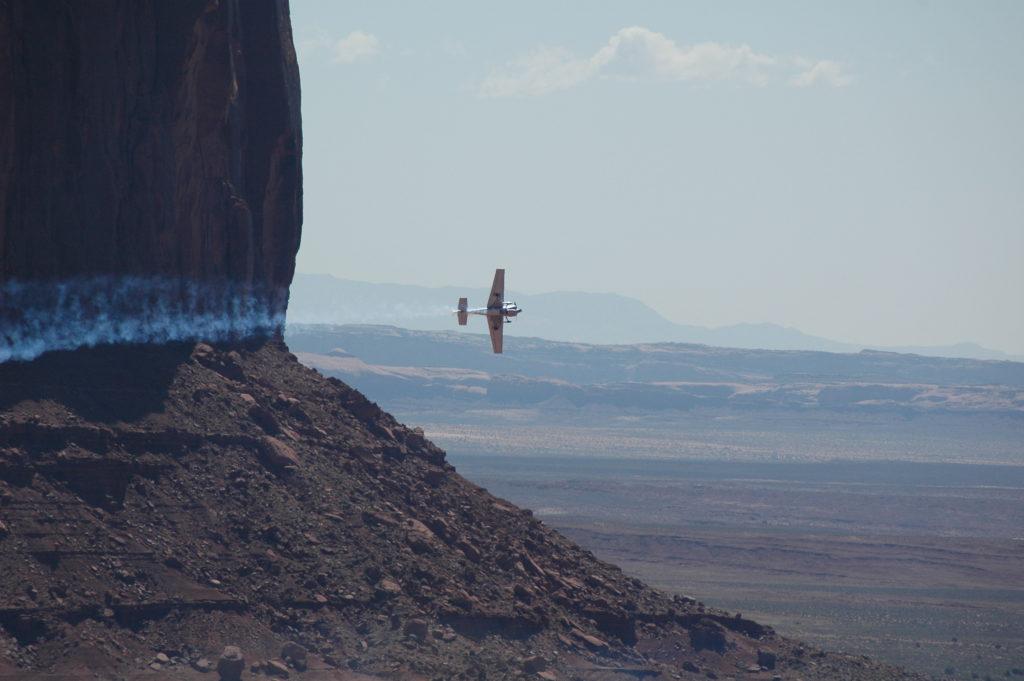 Arizona, wyścigi samolotów nad Monument Valley