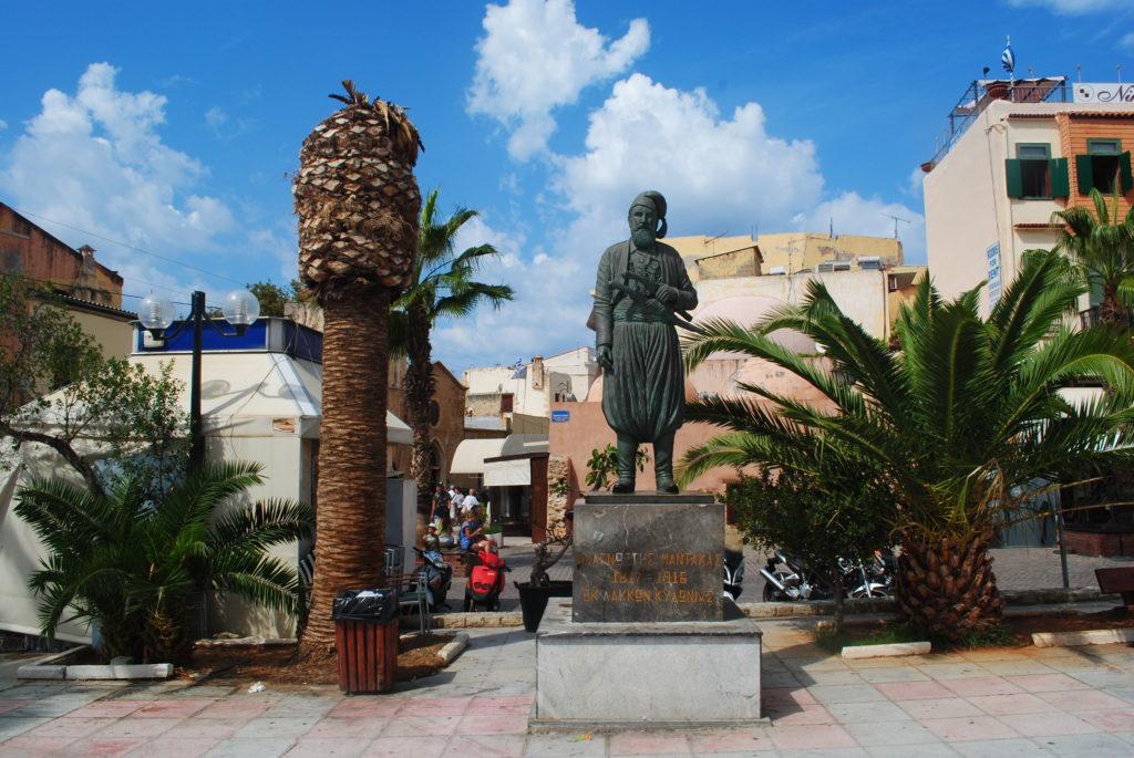 Przygoda w Grecji, uliczki Chanii