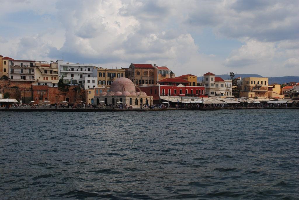 Przygoda w Grecji, port w Chanii