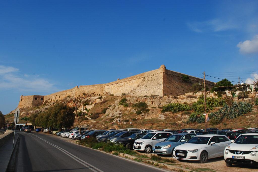 Przygoda w Grecji, twierdza wenecka w Rethymonie