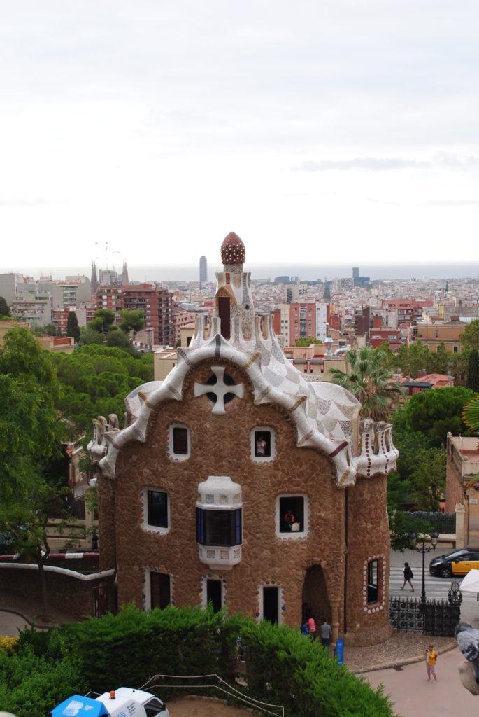 Wycieczka do Hiszpanii,, osiedle Gaudiego