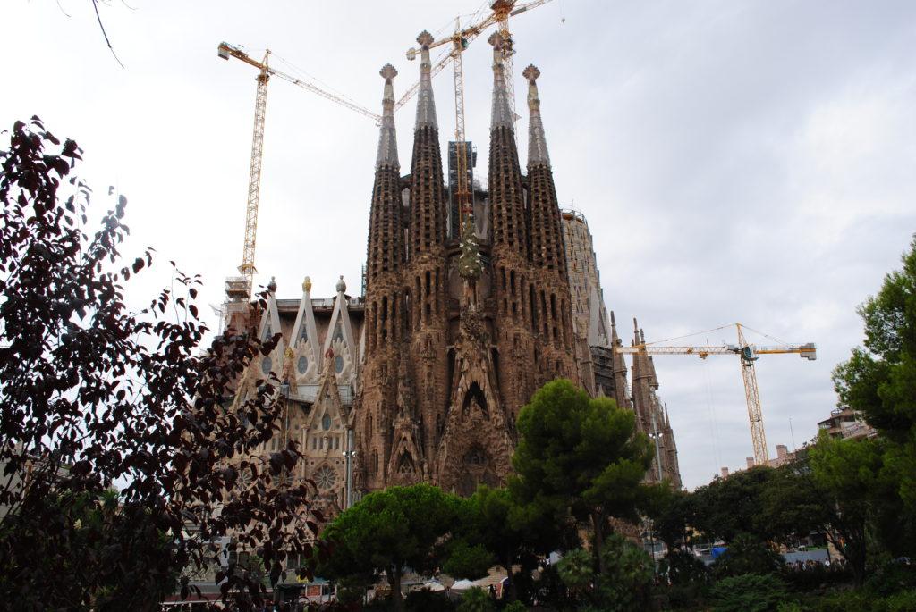 Wycieczka do Hiszpanii, Sagrada Familia