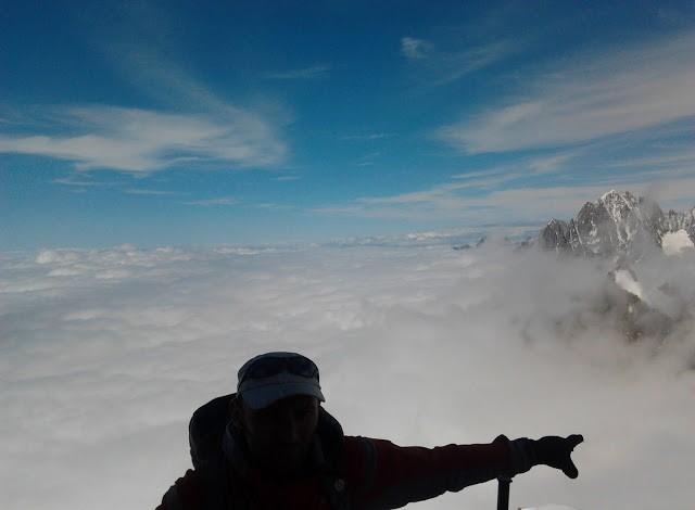 Wyprawa na Mont Blanc, piękne widoki