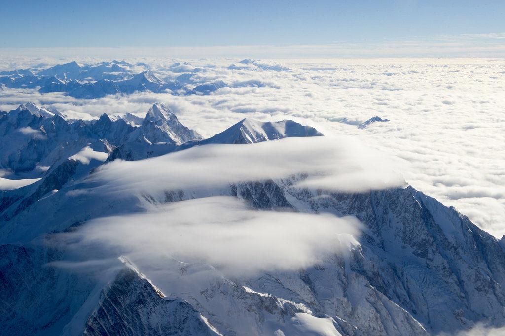 Wyprawa na Mont Blanc, jestem w niebie