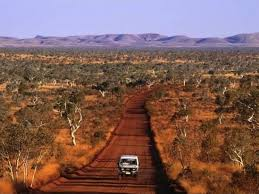 stepy australijskie, podróż przez step