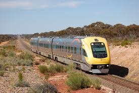 stepy australijskie, pociąg Prospector