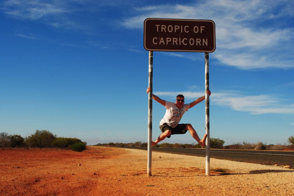 stepy australijskie, zwrotnik Koziorożca