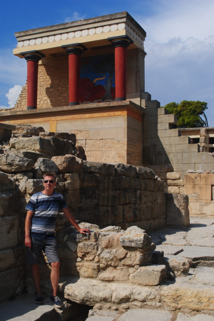 Kreta wschodnia, ruiny Knossos