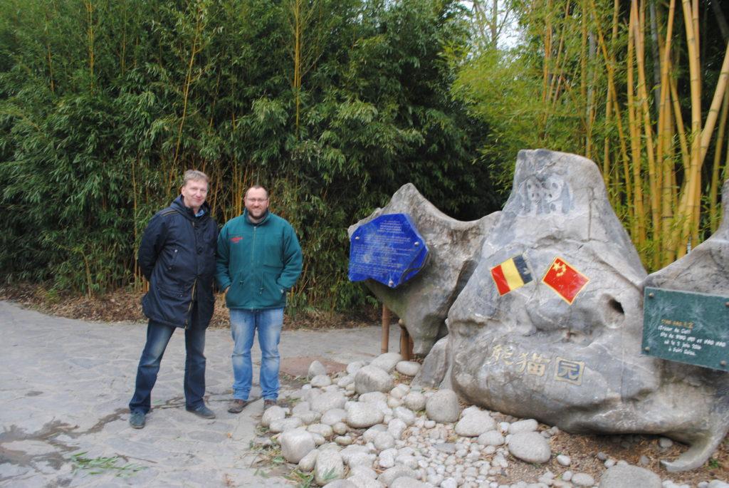 Koala w Europie, autor i Tim Bouts