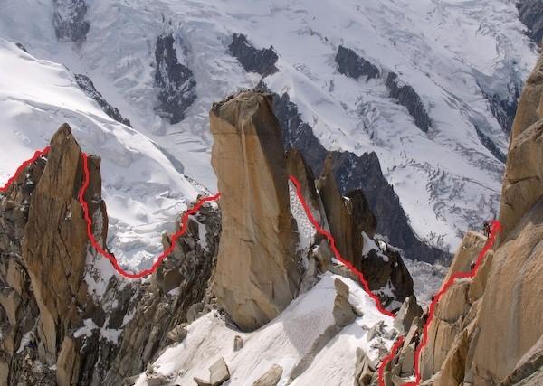 Wspinaczka w Alpach, nasz szlak