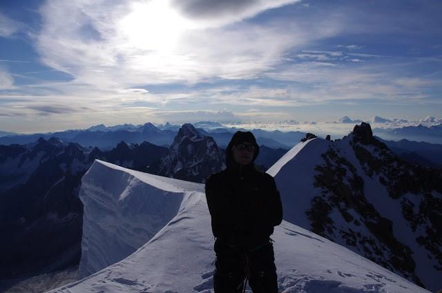 Wspinaczka w Alpach, nie ma to jak w górach