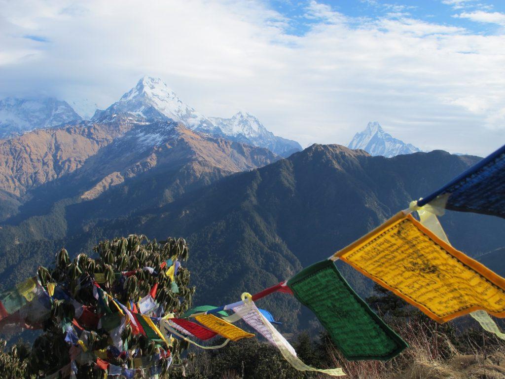 Jak w Nepalu, takie widoki widzi jak