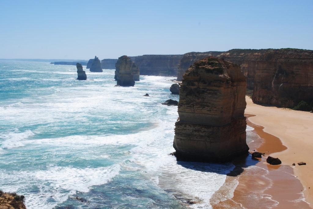 Wyprawa na Great Ocean Road, zbliżenie na 12 Apostołów