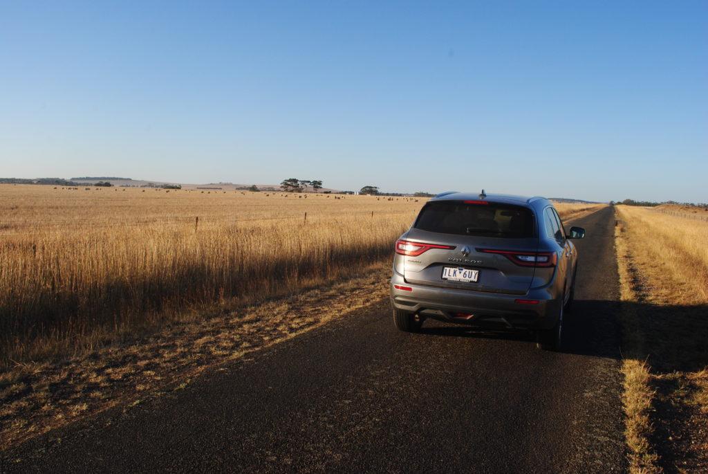 Wyprawa na Great Ocean Road, powrót do Melbourne przez pola