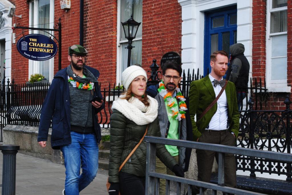Podróż do Dublina, mieszkańcy miasta