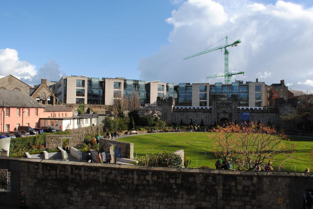 Podróż do Dublina, budowa wre