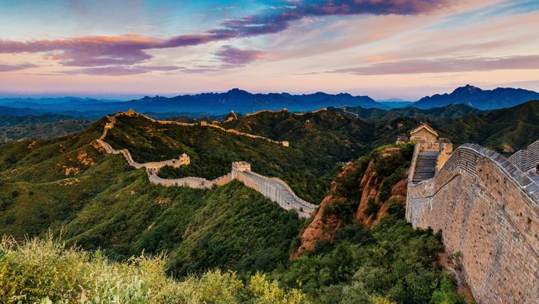 Jackie Chan. Chiński mur