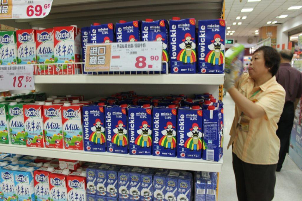 Jackie Chan. Polskie mleko w Chinach