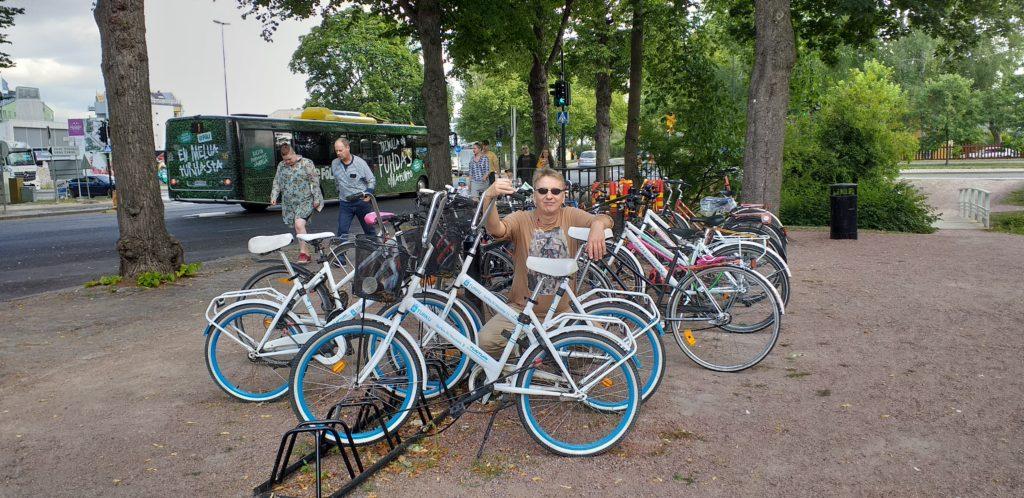 Podróż do Finlandii. W Turku rządzą rowery.