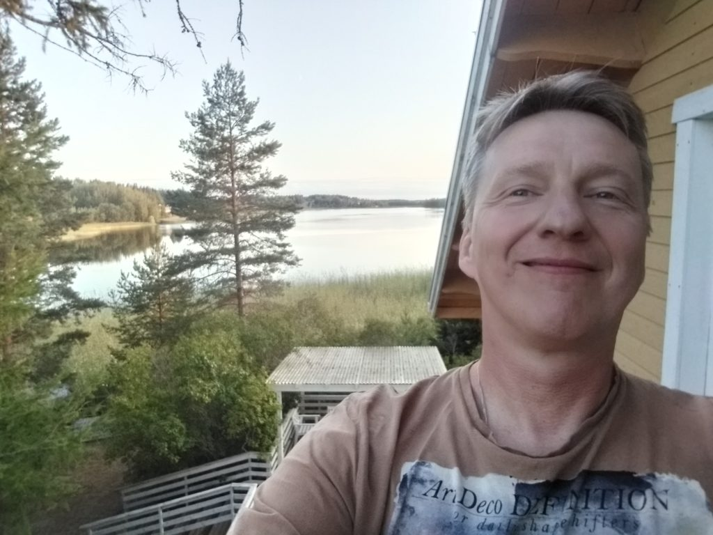 Podróż do Finlandii.