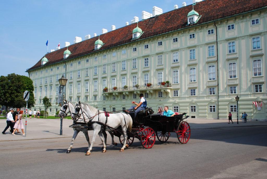 Zwiedzanie Wiednia.