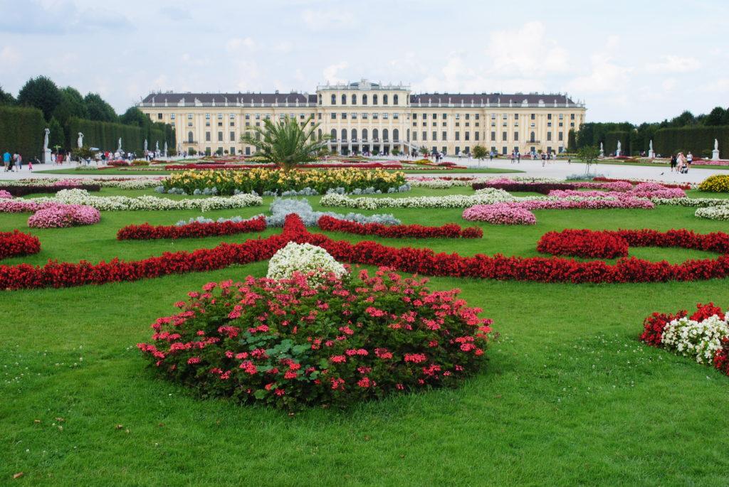 Zwiedzanie Wiednia. Pałac Schonbrunn.