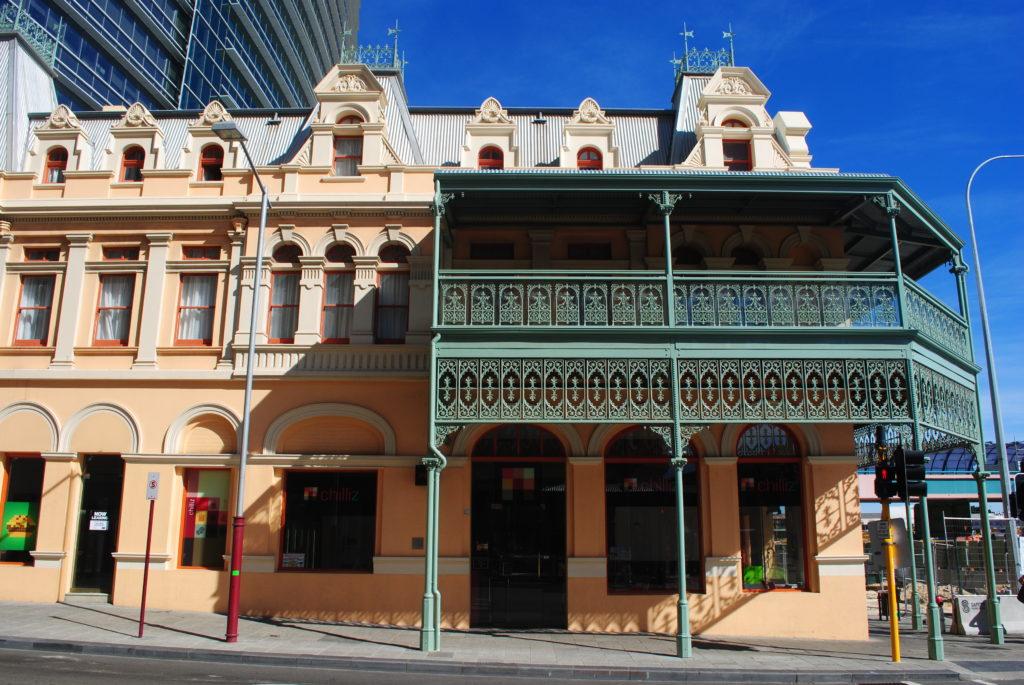 Perth, Australia Zachodnia. Australijskie domy.