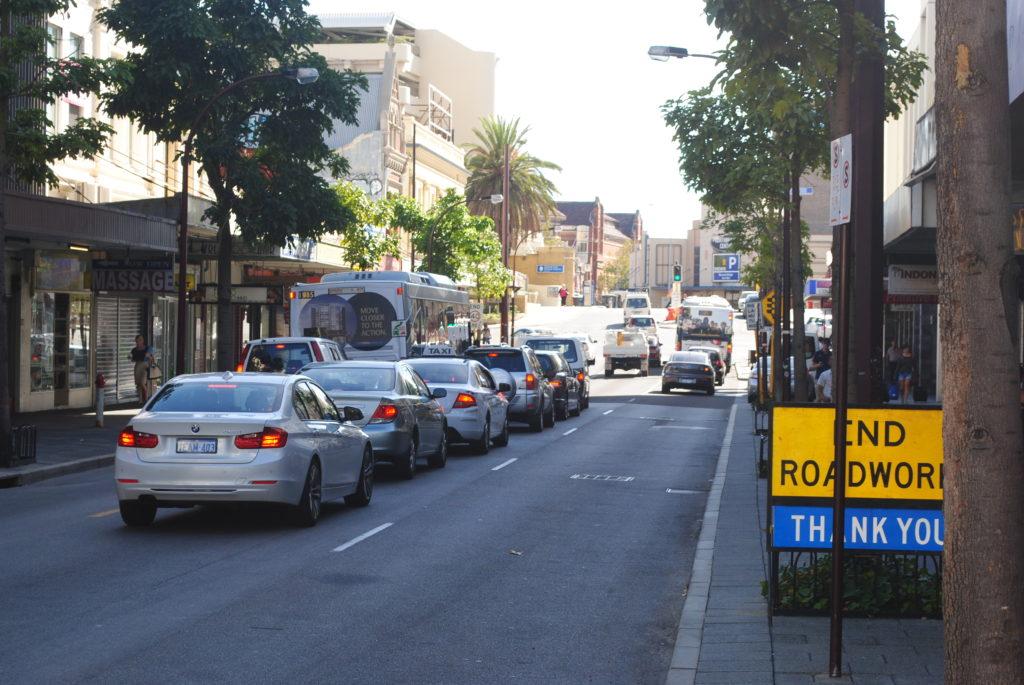 Perth, Australia Zachodnia. Ulice w Perth.