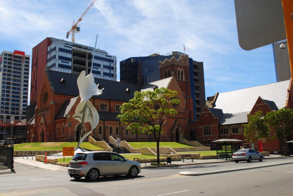 Perth, Australia Zachodnia. Czysto i schludnie.