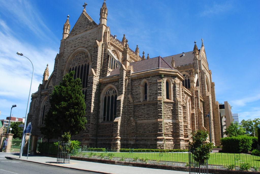 Perth, Australia Zachodnia. Katedra w Perth.