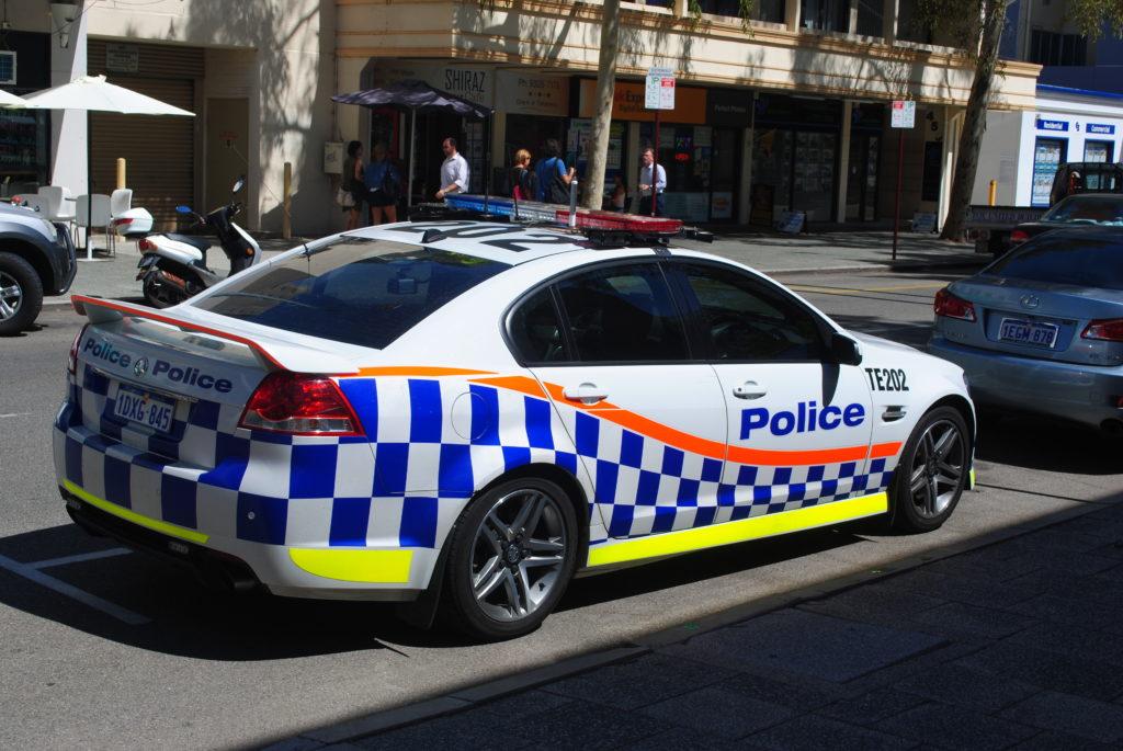 Perth, Australia Zachodnia. Nie zadzieraj z Policją.