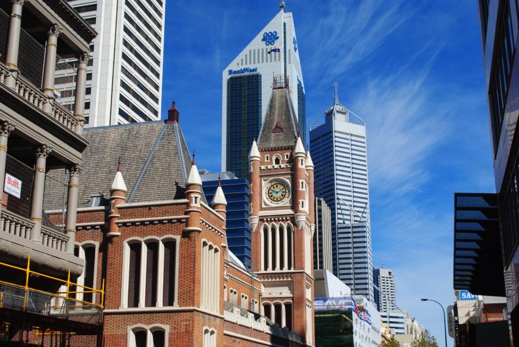 Perth, Australia Zachodnia. Centrum miasta.