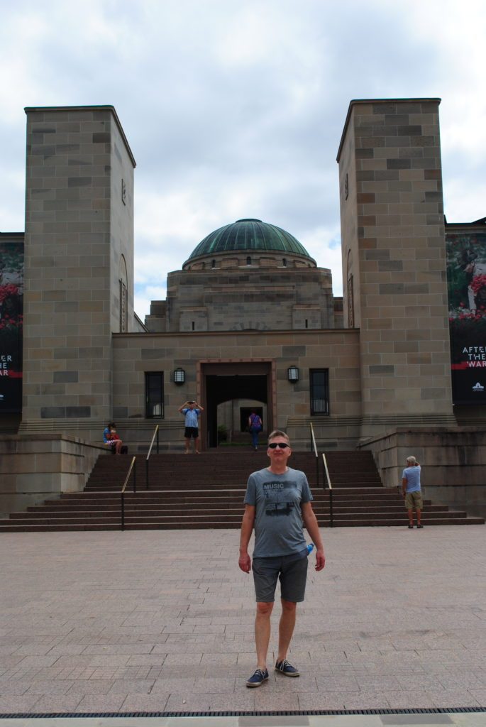 Canberra stolica Australii, Australian War Memorial